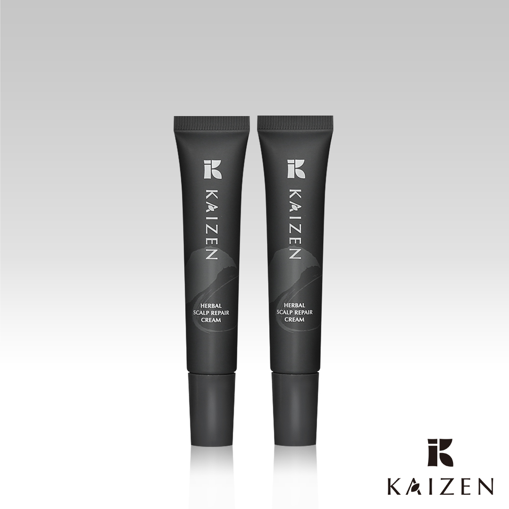KaiZen 凱嵐|植萃舒緩頭皮修護霜15mL-2入